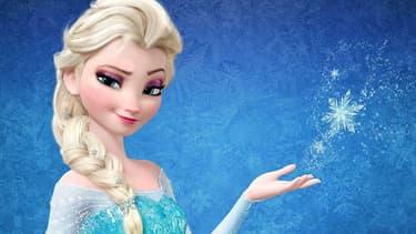 """Le personnage principal de """"La reine des neiges"""", a contribué au succès du prénom Elsa."""