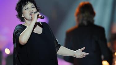 La chanteuse Maurane.