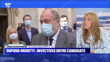 Dupond-Moretti: invectives entre candidats - 12/06