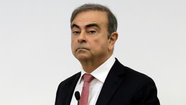 L'ancien patron de l'Alliance Renault-Nissan, Carlos Ghosn, lors d'une conférence de presse à Beyrouth le 8 janvier 2020