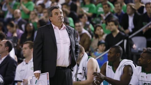 Pascal Donnadieu, entraîneur de Nanterre