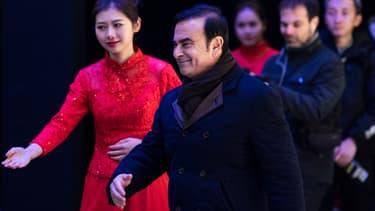 """Carlos Ghosn a assuré que l'ouverture de la première usine de Renault en Chine n'était qu'une """"étape""""."""