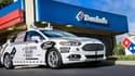 Ford et Domino's Pizza testent la livraison de pizzas par voiture autonome dans le Michigan.
