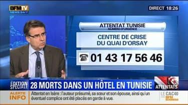 """Édition spéciale """"Attentats en Isère et en Tunisie"""" (3/5): Y a-t-il un lien entre ces attaques terroristes ? - 26/06"""