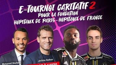 Tournoi caritatif FIFA de RMC : Les meilleurs moments avec Bouhafsi et Rothen