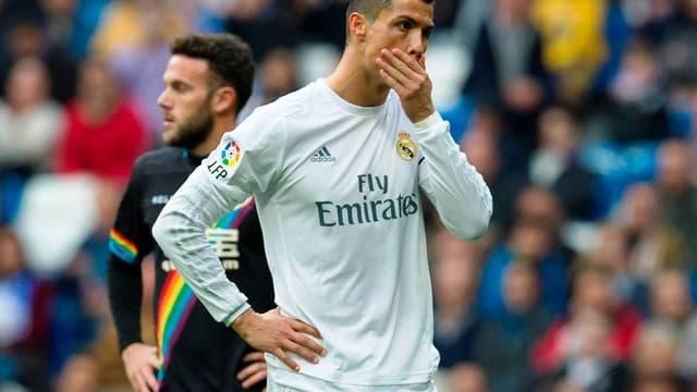 Cristiano Ronaldo a été malmané hier par le public de Bernabeu