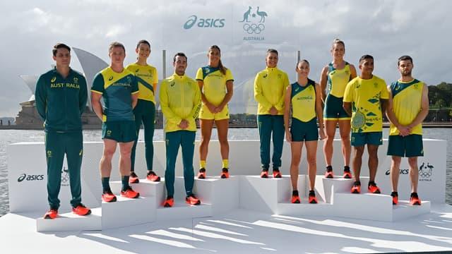 Les tenues Asics de l'Australie pour les JO
