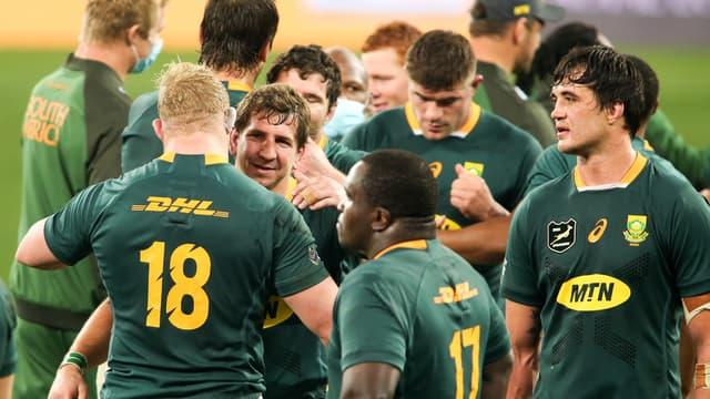 L'Afrique du Sud en test-match face aux Lions