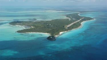 L'île de Whale Cay est en vente.