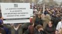 """Manifestations à Paris pour réclamer """"justice"""" pour Sarah Halimi, le 5 janvier 2020."""