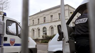 Le commissariat de Joué-lès-Tours, en Indre-et-Loire.