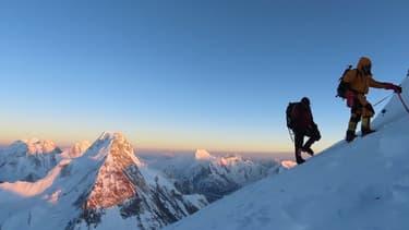 Ascension du K2, au Pakistan (illustration)