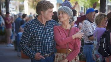"""Jane Fonda et Robert Redford dans le film """"Our souls at Night"""""""