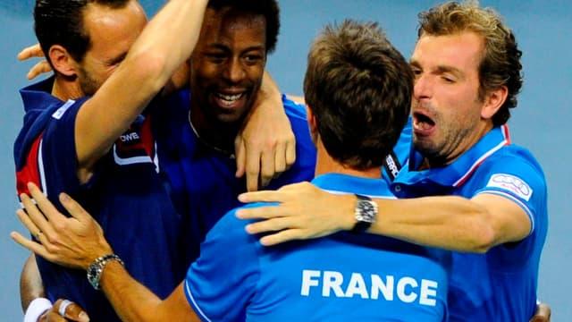 Gaël Monfils a offert le point décisif aux Bleus