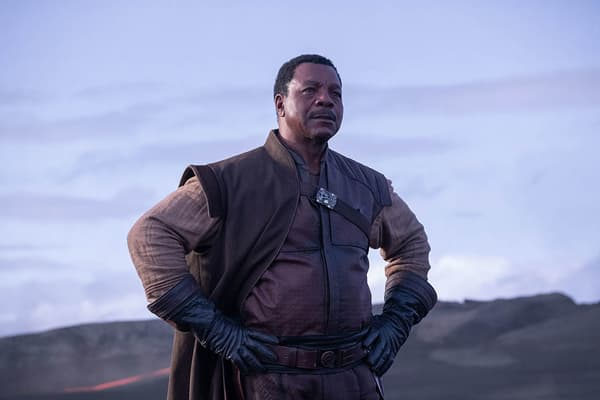 Carl Weathers dans The Mandalorian