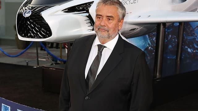 Luc Besson, à Los Angeles, lors de la première mondiale de 'Valérian'
