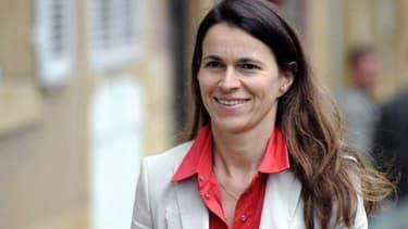 Aurélie Filippetti, la ministre de la Culture