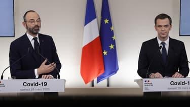 Image d'illustration: le Premier ministre Edouard Philippe et le ministre de la Santé Olivier Véran