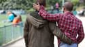 Un couple d'hommes (photo d'illustration) - AFP