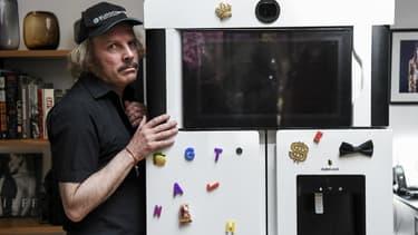 Philippe Katerine et le frigo Yves