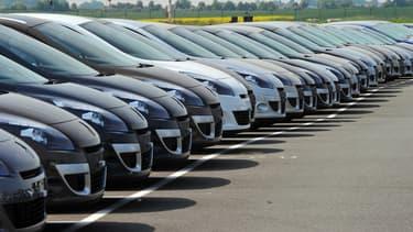 Les ventes de voiture ont reculé en septembre, après un pic en août.