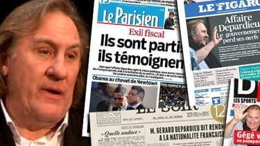 La presse ne manque pas d'ironiser et de s'interroger sur la grandeur et la décadence d'un des plus grands acteurs français.