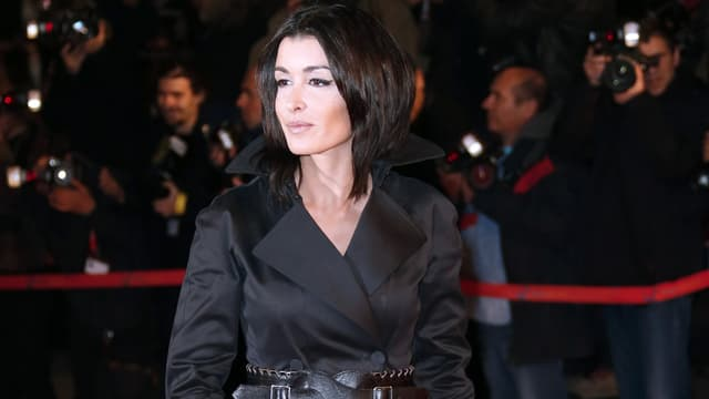 Jenifer sur le tapis rouge des NRJ Music Awards, à Cannes.
