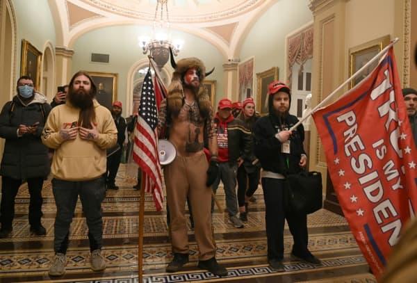 Des partisans de Donald Trump ont envahi le Capitole, à Washington, le 6 janvier 2021