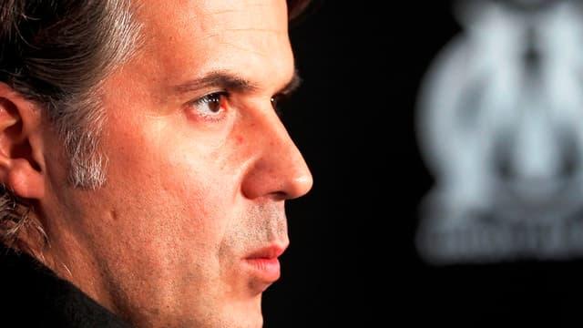 Vincent Labrune, le président de l'OM