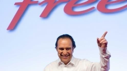 Xavier Niel, le patron de Free, peut se féliciter des bonnes performances de l'opérateur, aussi bien sur le mobile que sur le fixe