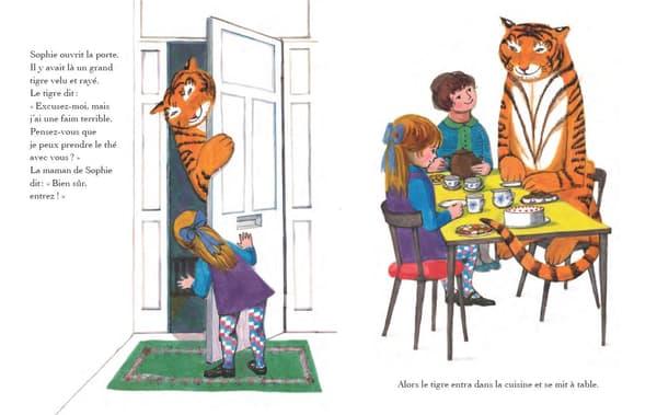 """""""Le tigre qui s'invita pour le thé""""de Judith Kerr"""