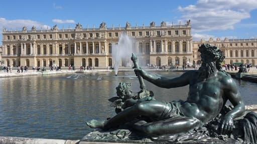 Le Château de Versailles, l'une des principales destinations des touristes étrangers