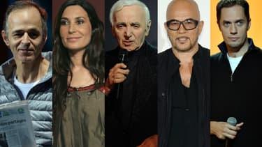 A l'instar de Jean-Jacques Goldman, Zazie, Charles Aznavour, Pascal Obispo ou Grand Corps Malade, de nombreux artistes ont écrit pour Johnny Hallyday tout au long de sa carrière.