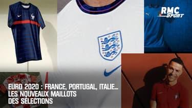 Euro 2020 : France, Portugal, Italie... Les nouveaux maillots des sélections