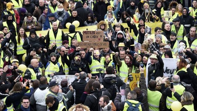 """Manifestation de """"gilets jaunes"""", le 23 novembre 2019"""