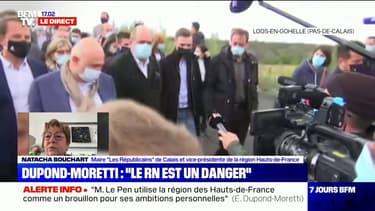 """Pour Natacha Bouchart, """"la candidature d'Éric Dupond-Moretti est un non-événement"""""""