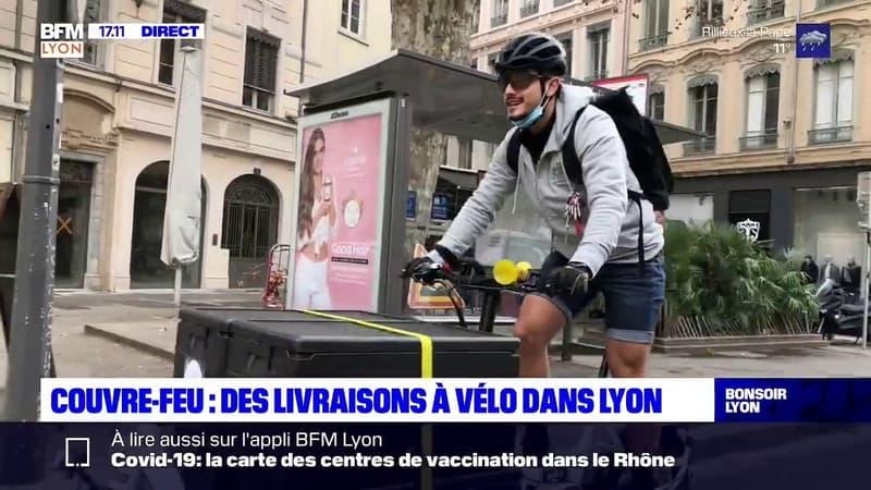 Lyon, Villeurbanne ou encore Caluire : vos courses livrés chez vous en vélo