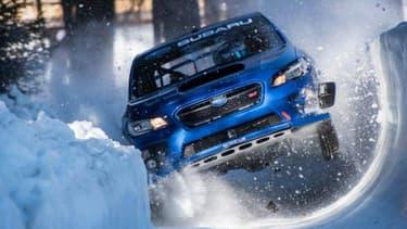 Descendre une piste de bobsleigh en voiture, simple comme bonjour pour le pilote rallye et cascadeur Mark Higgins.