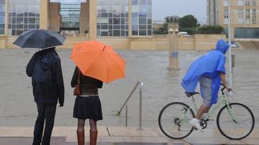Le déluge lundi à Montpellier.