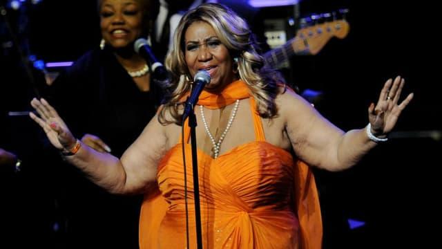 Aretha Franklin, le 25 juillet 2012