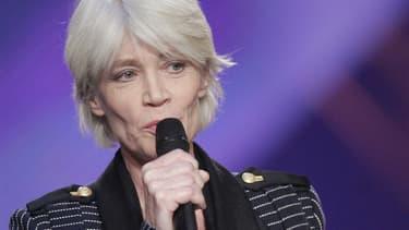 Françoise Hardy en 2005, aux Victoires de la musique