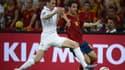 Laurent Koscileny face à l'Espagne lors de l'Euro 2012