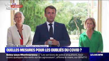 """Coronavirus: Emmanuel Macron """"veut envoyer un message de solidarité de la Nation"""" pour les personnes fragiles"""