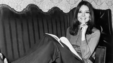 L'actrice britannique Diana Rigg en 1970
