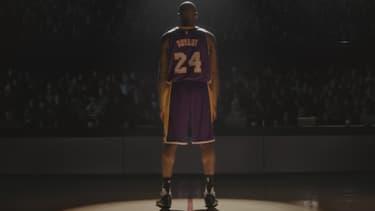 Kobe Bryant est à l'affiche de la nouvelle pub Nike.