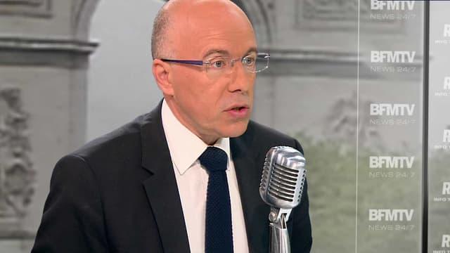 Eric Ciotti, le député et secrétaire général adjoint de l'UMP sur RMC et BFMTV jeudi.