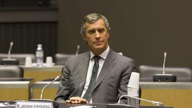 Jérôme Cahuzac, ce mercredi devant la Commission d'enquête parlementaire.