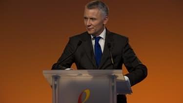 Gervias Pellissier, le directeur général de France Télécom Orange, était dans Good Morning Business avec Stéphane Soumier le 20 février 2013;