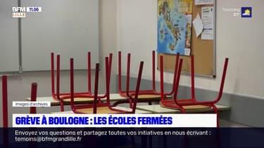 Grève à Boulogne-sur-Mer: les écoles fermées