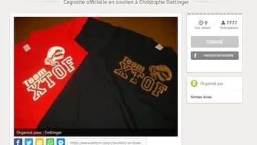 Plus de 8.800 personnes ont participé à la cagnotte en soutien à Christophe Dettinger.